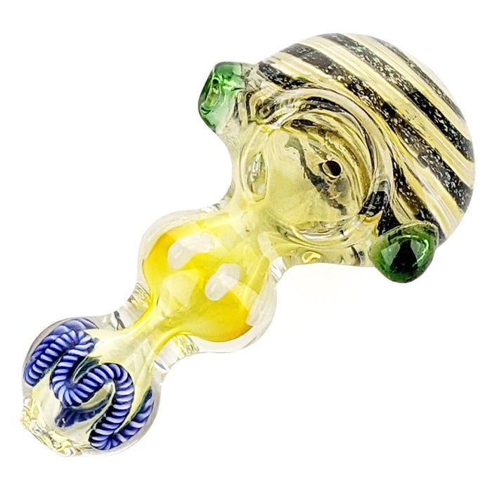 Bumblebee Bubble Glass Pipe On sale