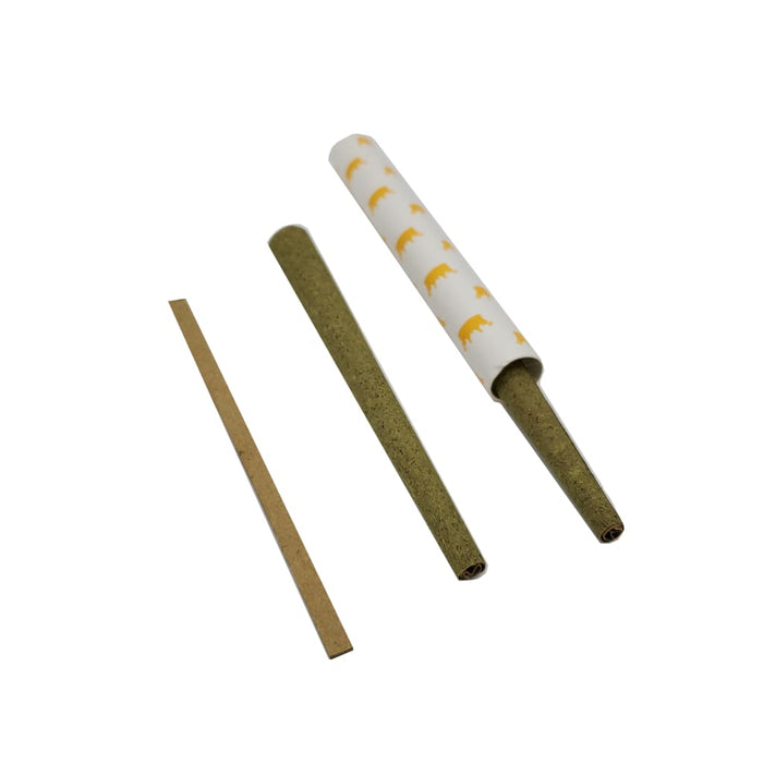 Crop Kingz Premium Hemp King Size Cones - Brass On sale