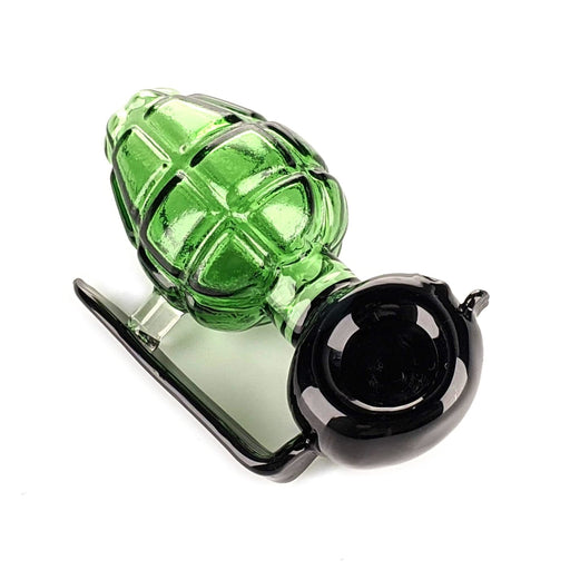 Green go Grenade Pipe On sale