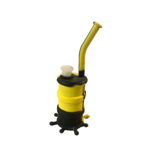 Oil Barrel Silicone Waterpipe On sale