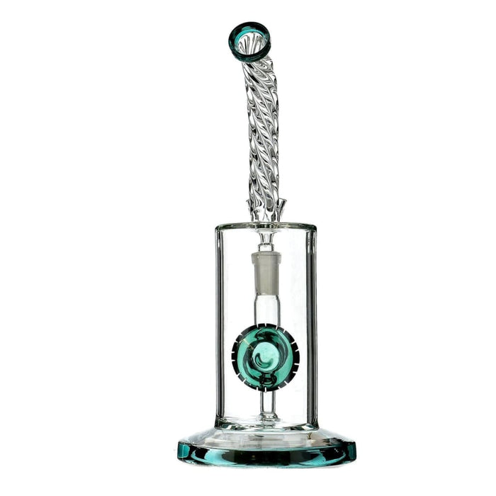 R4 Twisted Neck Bong White