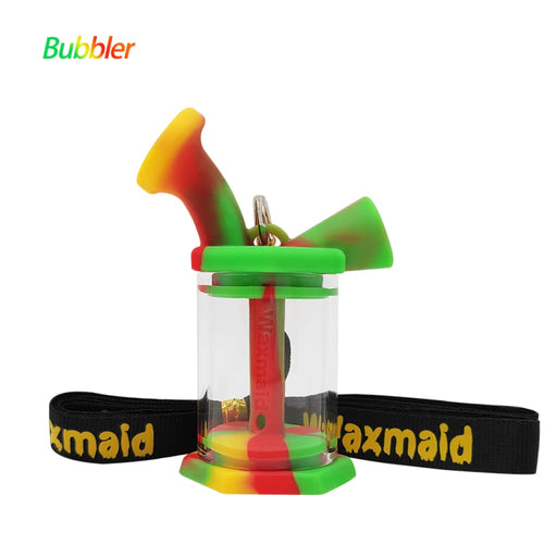 Silicone Glass Mini Bubbler On sale