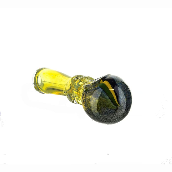 Small Fumed Glass Spoon On sale