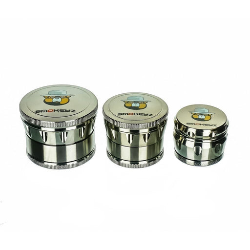 Smokeyz 4 Piece Magnetic Metal Grinder On sale