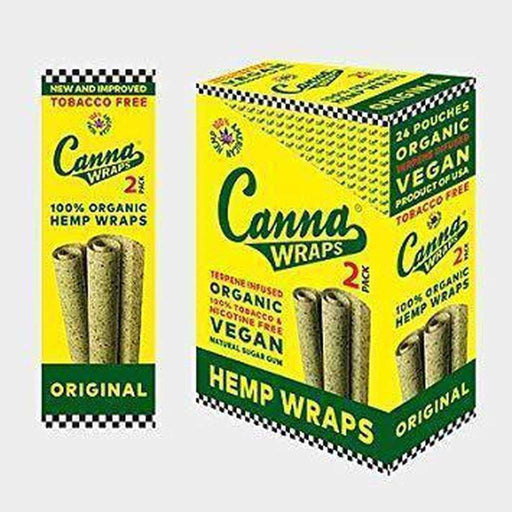 Vegan Hemp Canna Wraps On sale
