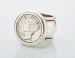 Coin Ring - US Dime Sterling Silver