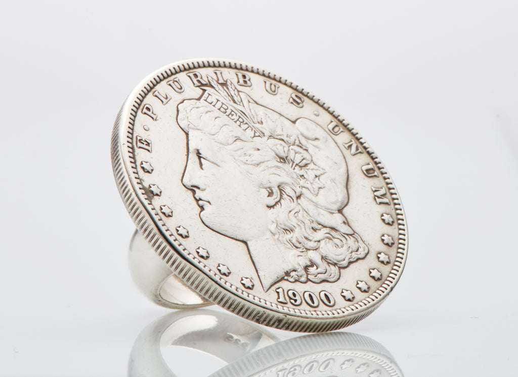Coin Ring - US Dollar Sterling Silver
