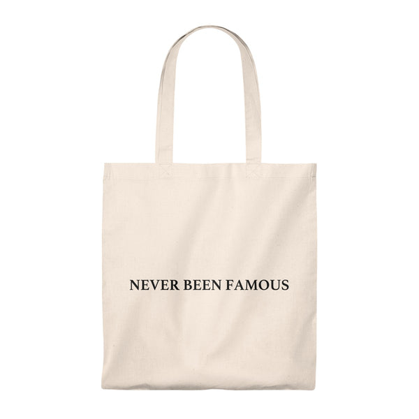 Never Been Famous - Vintage Tote Bag