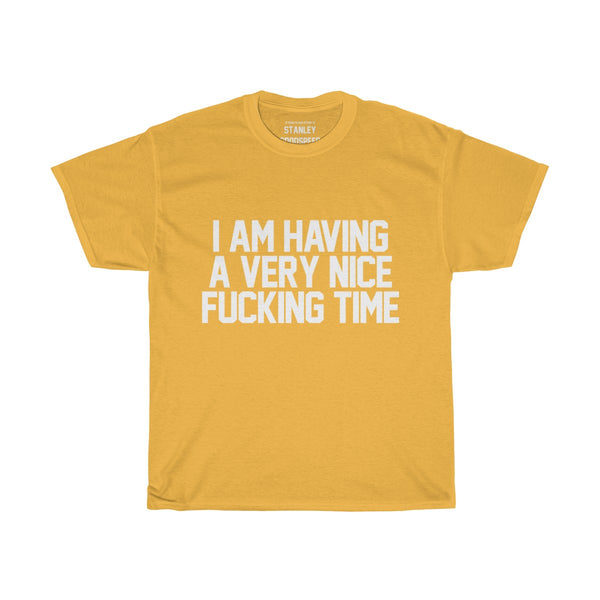 I Am Having A Very Nice Fucking Time - T-Shirt - (Black/Colours)