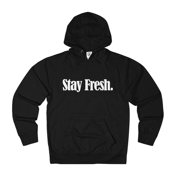 Stay Fresh. - Hoodie (Black/Red)