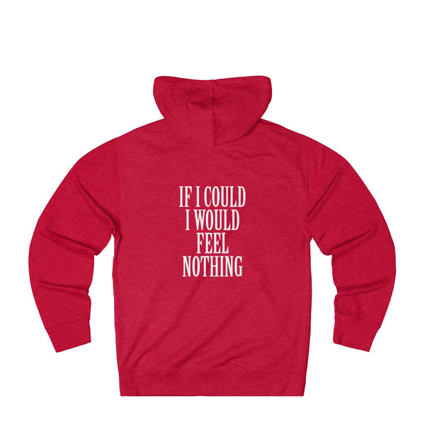 If I Could I Would Feel Nothing - Hoodie (Black/Red)