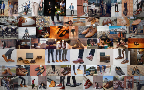 Customer Collage. Marquina Shoemaker