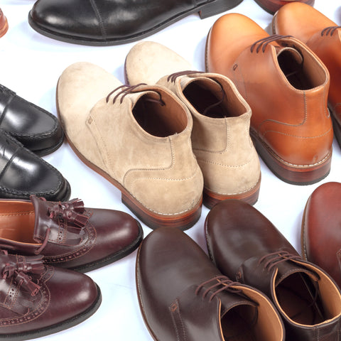 Marquina Collection Marikina Made Leather Shoes
