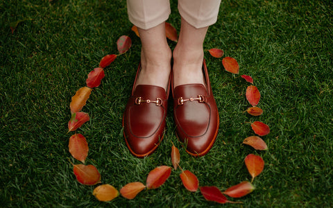Soft Step Loafer in Chestnut