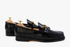 The Grand Horsebit Loafer - Black Noir - Marquina Shoemaker