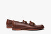 The Bonnie Horsebit Loafers - Chestnut Brown - Marquina Shoemaker