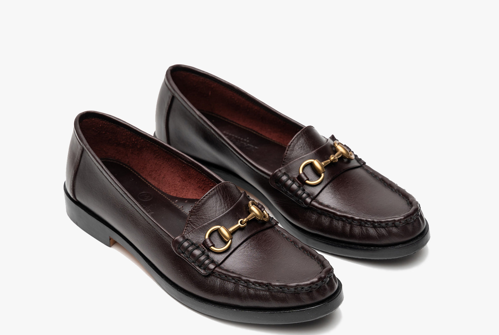 The Bonnie Horsebit Loafers - Oxblood Burgundy - Marquina Shoemaker