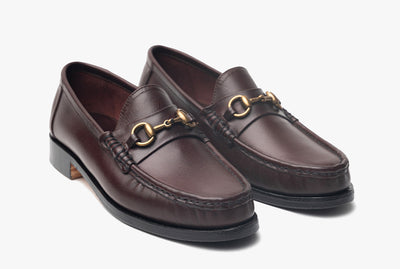The Grand Horsebit Loafer - Oxblood Burgundy - Marquina Shoemaker