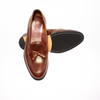 The Grand Tassel Loafer - Chestnut Brown - Marquina Shoemaker