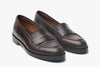 The Bonnie Penny Loafers - Oxblood Burgundy - Marquina Shoemaker