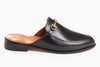 The new casual loafers for women - mule inspired black design from Marquina Shoemaker