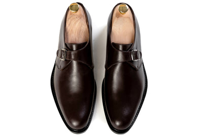Grand Single Monkstrap - Oxblood Burgundy - Marquina Shoemaker