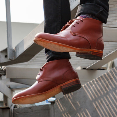 Gomez Chukka Boot - Chestnut Brown