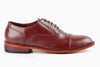 Garcia Captoe Oxford - Chestnut Brown