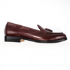 The Grand Tassel Loafer - Oxblood Burgundy - Marquina Shoemaker