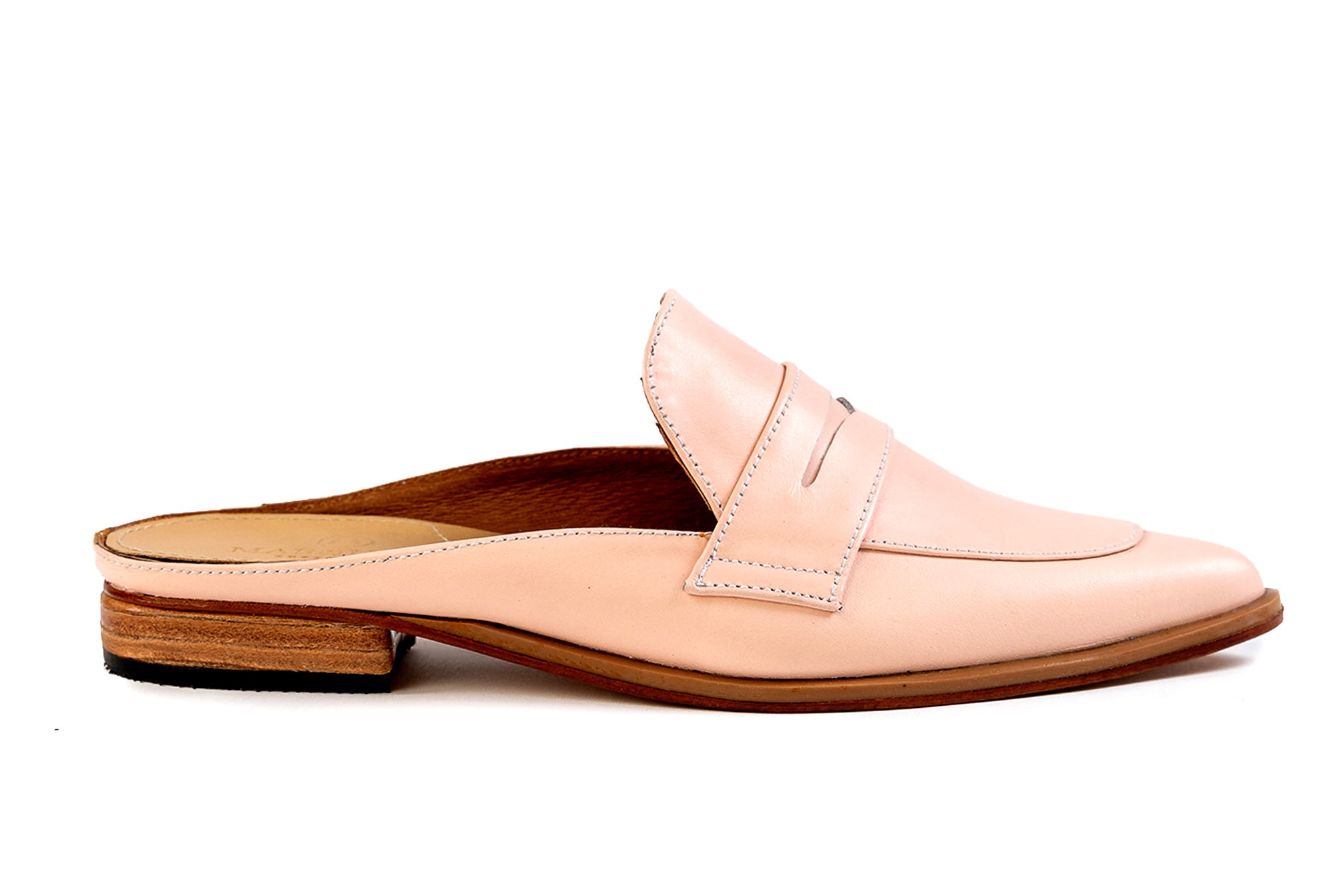 Posh Penny Loafer - Blush Pink - Marquina Shoemaker
