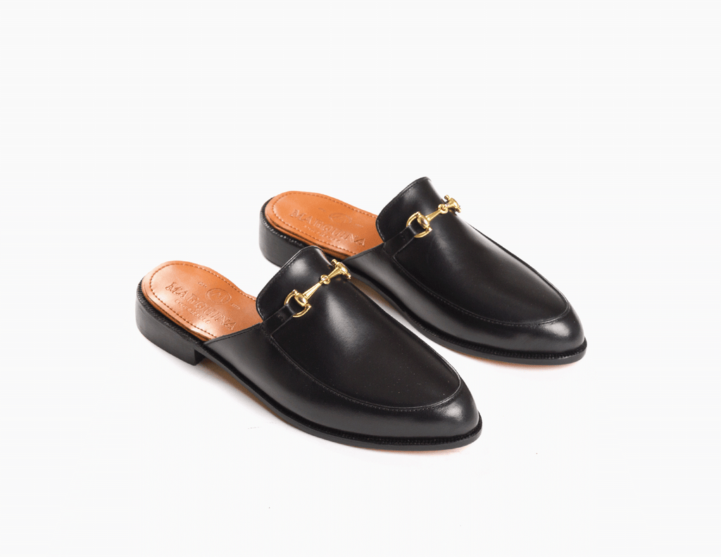 The Luxe Loafer - Black Noir - Marquina Shoemaker