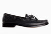 Blake Stitched Driving Moccasin - Black Noir