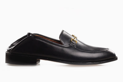 The Soft Step Loafer - Black Noir - Marquina Shoemaker