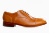 Garcia Captoe Oxford - Cognac Tan - Marquina Shoemaker