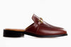 The new casual loafers for women - mule inspired brown design from Marquina Shoemaker