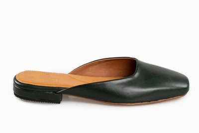 The Mod Flat - Emerald Green - Marquina Shoemaker