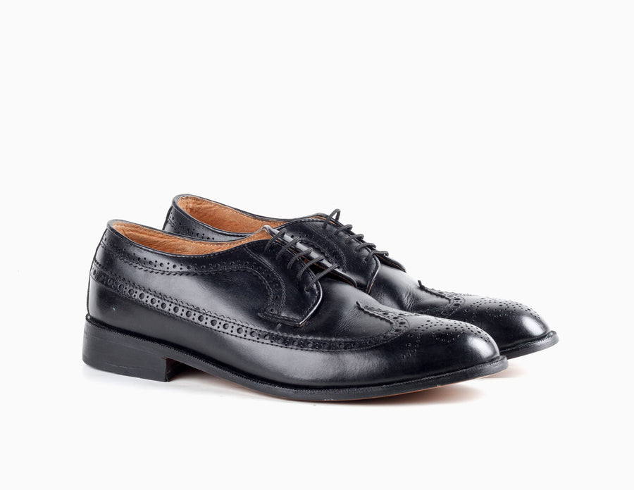 Quezon Longwing - Black Noir - Marquina Shoemaker