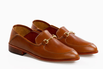 The Soft Step Loafer - Cognac Tan - Marquina Shoemaker