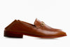 Collapsible heel loafer for women in Tan from Marquina Shoemaker Philippines