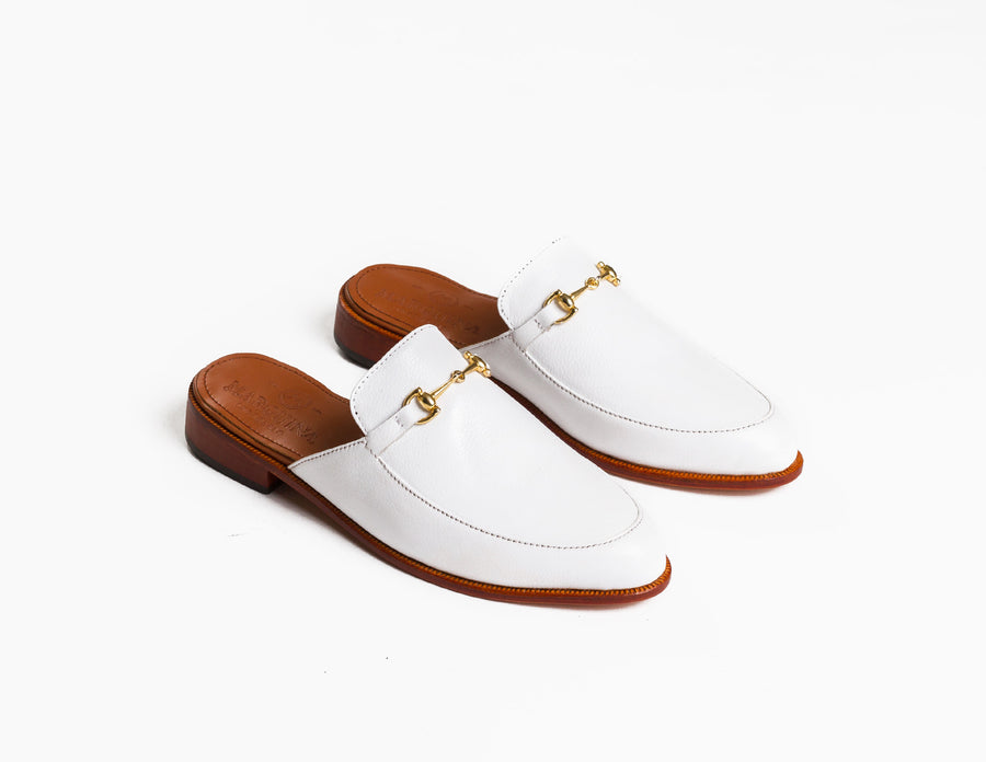 The Luxe Loafer - Ivory White - Marquina Shoemaker