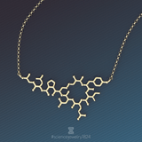 oxytocin - 18K gold plated