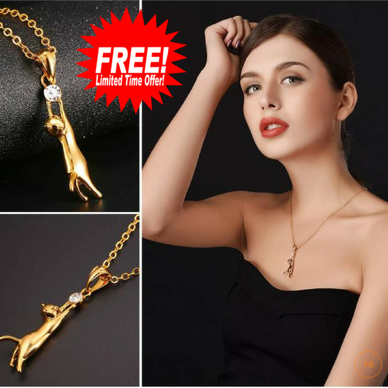 FREE GIVEAWAY HIGH QUALITY CAT NECKLACE