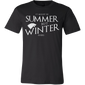 "Game Of Thrones ""It Might Be Summer But Winter Is Here"" T-Shirt (Limited Edition)"