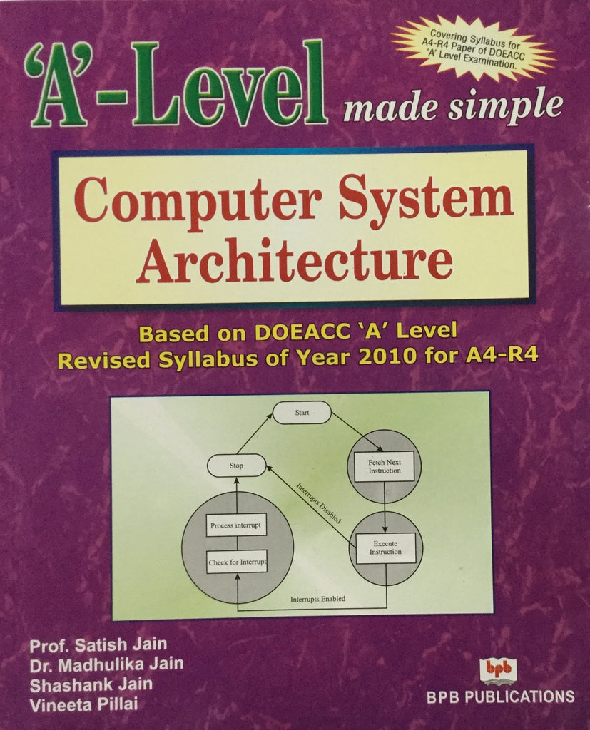 'A' Level Computer System Architecure (A4-R4)