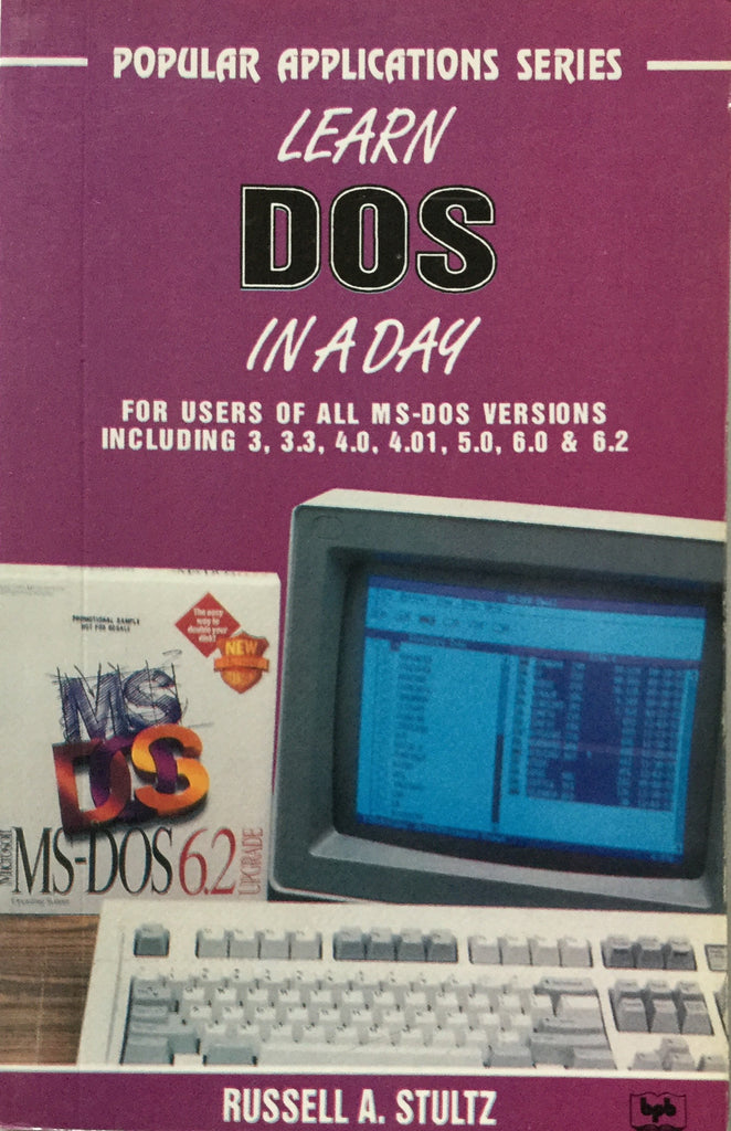 Popular Applications Series Learn DOS In A DAY