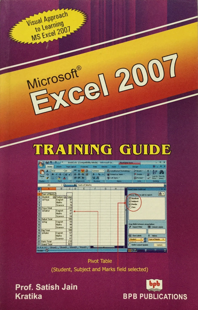 Excel 2007 Training Guide