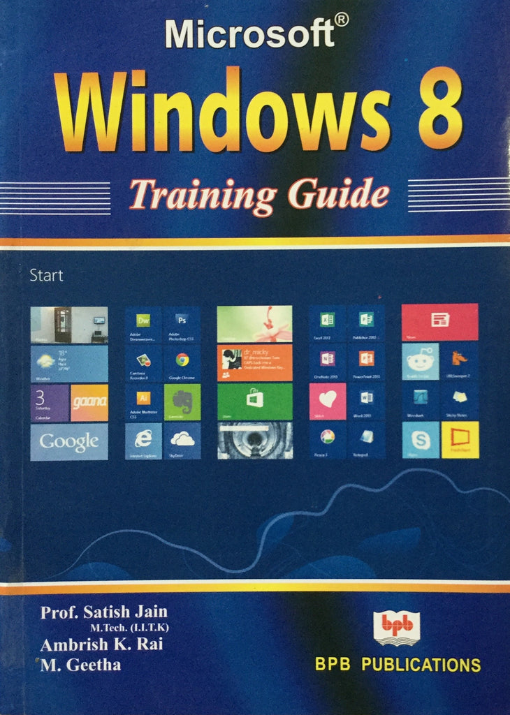 MS Windows 8 Training Guide books