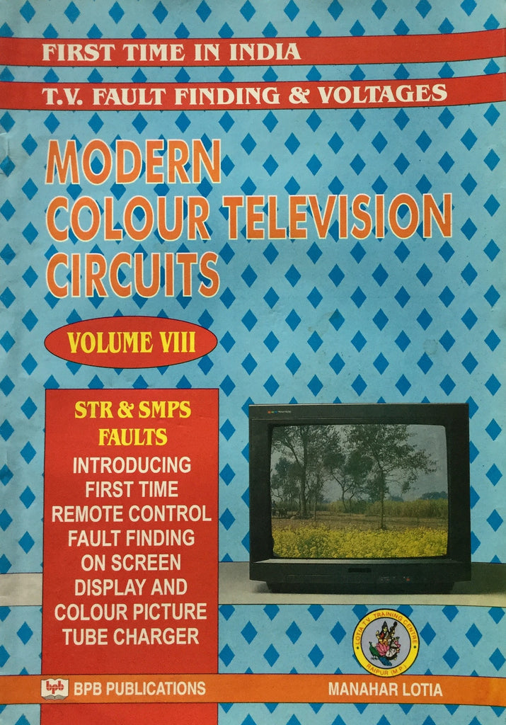 Modern Colour TV Circuits VOl 8 books