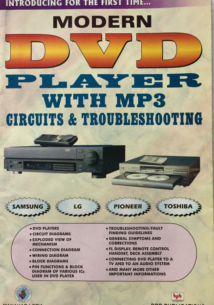 Modern DVD Player with MP3 Circuits
