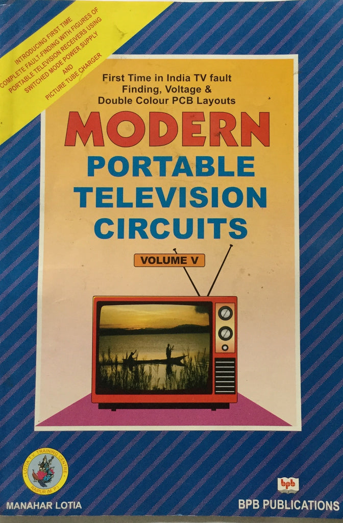 Modern Portable Television Circuits buy online electronics books